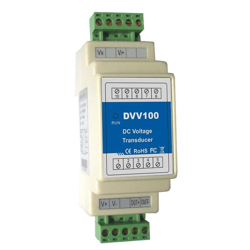 DC Voltage Transducer Output: 0~20mA,4~20mA,0~5V,0~10V DVV100 working for RTU voltage to turn current 0 5v3 3v 10v to 4 20ma 0 20ma 1 5v to 4 20ma potentiometer tune