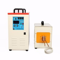 60KW High Frequency Induction Metal Heater Furnace 30 80 KHz LH 60AB