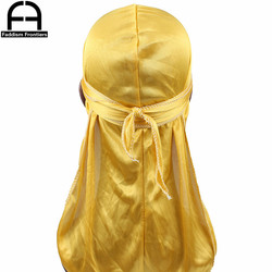 255pcs for 17 colors Silk Durag Wholesale include Shipping