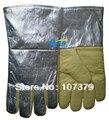 Novo 700 graus centígrados de calor luvas de segurança de aramida de calor luvas de trabalho