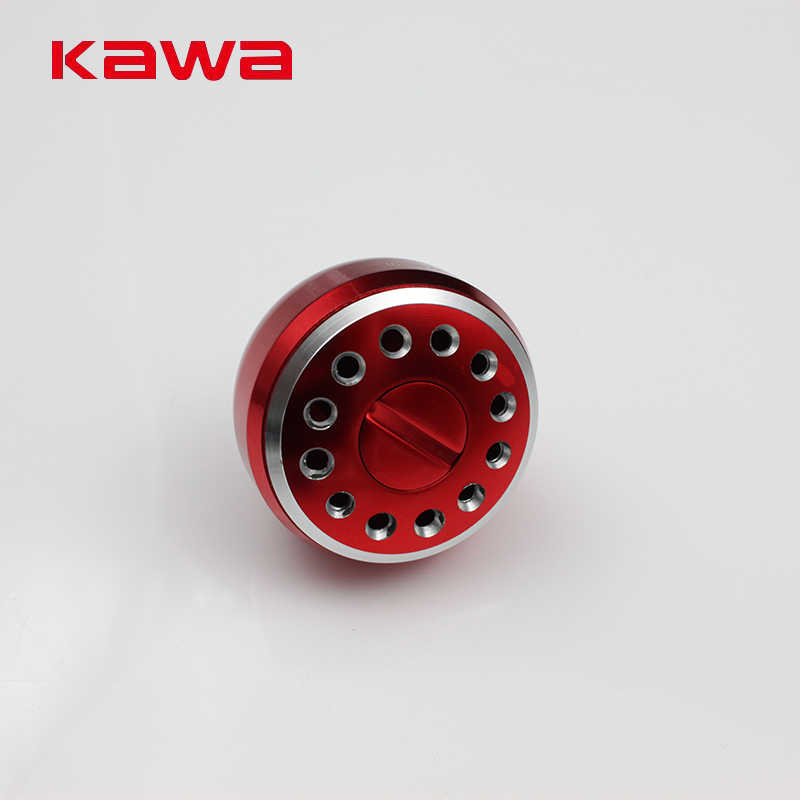 Kawa New Fishing Handle Knob for Spinning wheel Type, Machined Metal Fishing Reel Handle Knobs Bait Casting Spining Reels