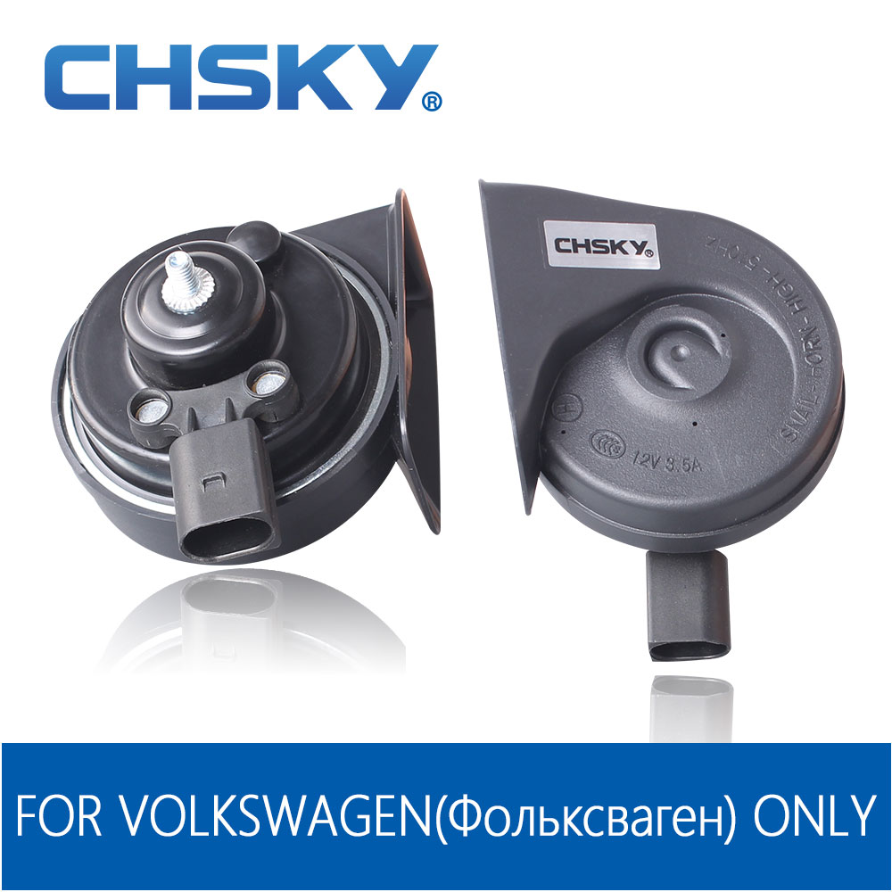 Chsky Special For Vw Horn 12v Loudness 110 129db Loud Car Horn For Long Life Time Claxon Auto