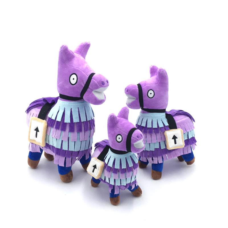 Fortress Night Llama Drama Loot Pinata Battle Royale Plush Pillow Soft Horse Stash Alpaca Stuffed Animal Dolls Toys Children
