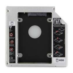 "Горячая 12,7 мм 2,5 ""SATA HDD жесткий диск Bay Caddy для lenovo Y430 Y450 V560"
