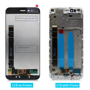 Image 2 - for Xiaomi Mi A1 LCD Display Touch Screen Digitizer Assembly with Frame for Xiaomi Mi 5X display replacement Repair Spare Parts