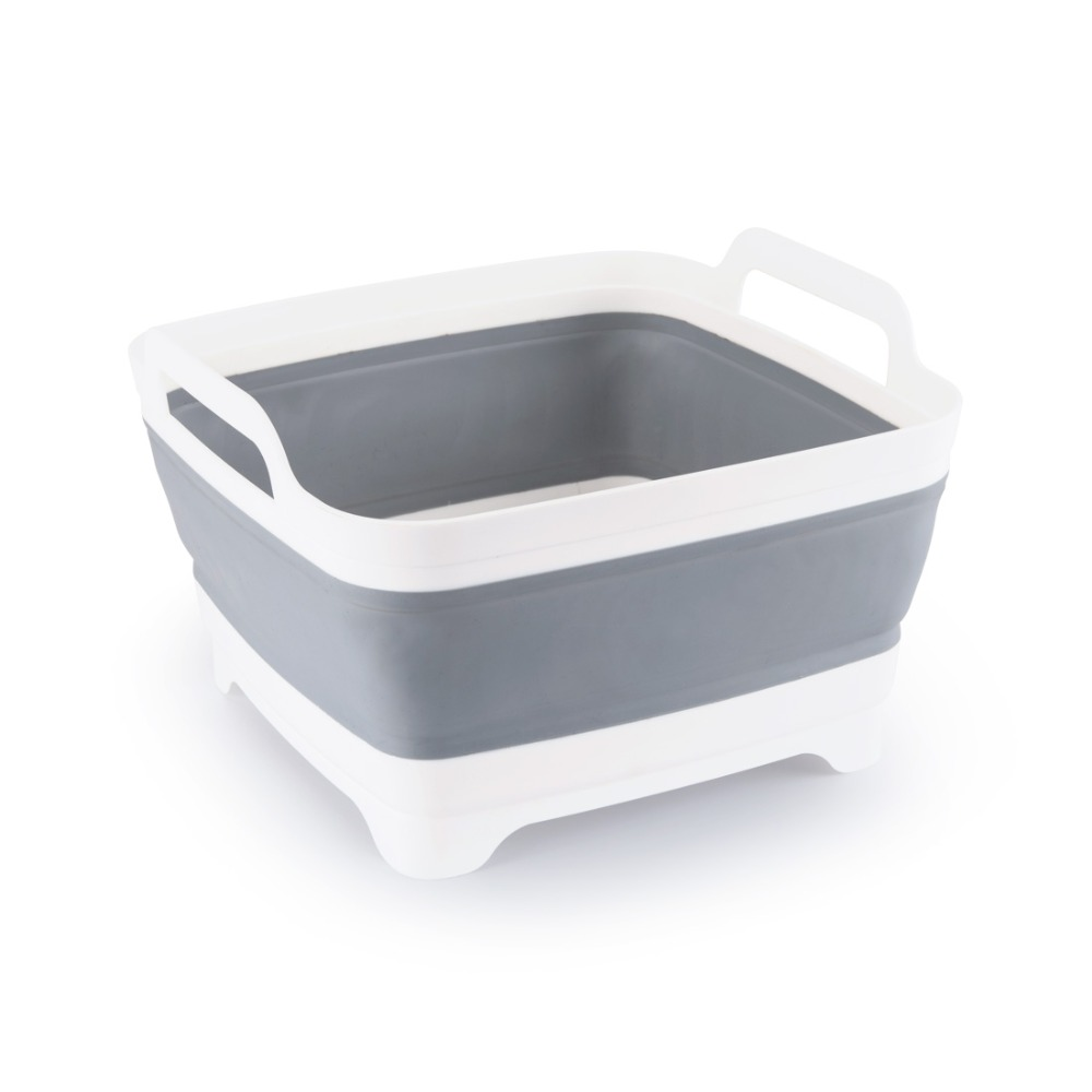 Plastic wash Vegetable Fruit basket Foldable Creative Portable Camping Fishing Kitchen Bath Cleaning Tools Outdoor Accessories