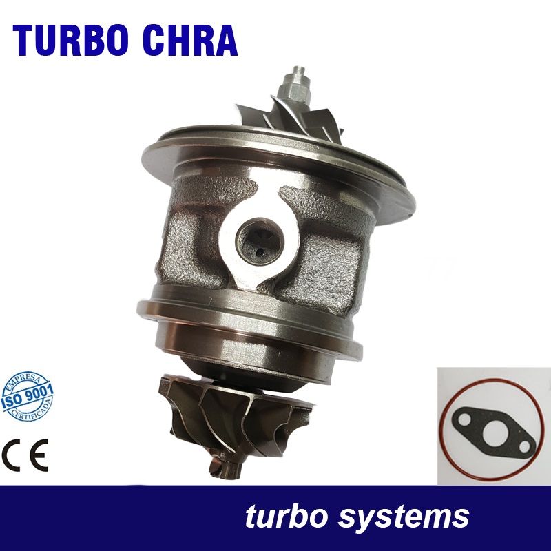 Turbo chra core cartridge TD025S2-06T4 49173-07506 49173-07504  for Ford Fiesta VI Focus II Fusion 1.6 TDCI DV6ATED4 HHDA  05- free ship turbo cartridge chra for ford fiesta for citroen c4 307 407 dv6ated4 1 6l 49173 07507 49173 07506 49173 07503 turbine