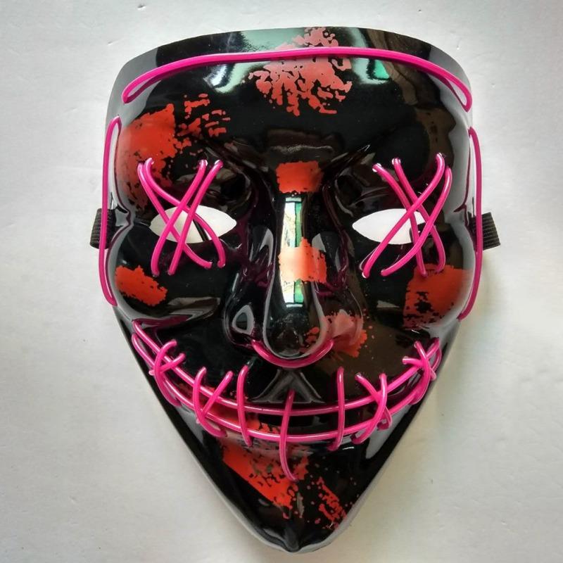 Halloween LED Purge Masks