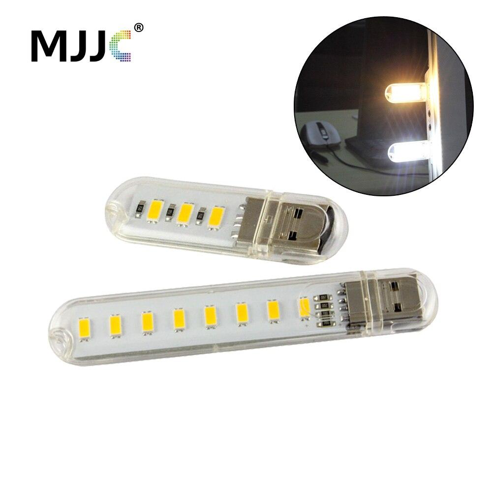 Bebé Mini Noche de Luz LED USB PC Portátil de Escritorio del LED luz portátil lá