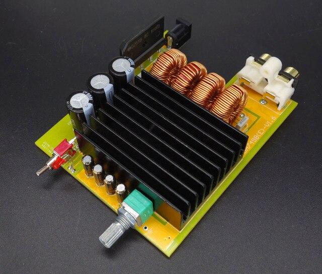TDA7498E 160 W + 160 W clase D Dual-btl audio tablero del amplificador dc 15 V-36 V 24 v 19 v pc del coche
