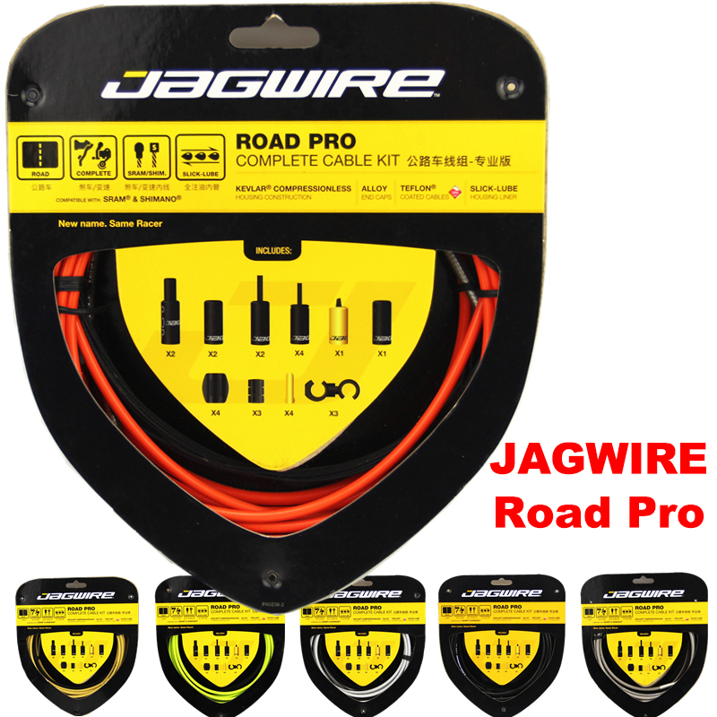 Top quality JAGWIRE RACER ROAD PRO L3 Road Pro Complete cable kit brake cable sets Bicycle