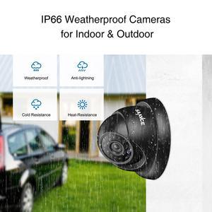 Image 5 - SANNCE 4CH 1080N كاميرا أمان dvr نظام الدائرة التلفزيونية المغلقة 4 قطعة 720 P كاميرات الدوائر التلفزيونية المغلقة P2P داخلي في الهواء الطلق الفيديو طقم مراقبة للمنزل