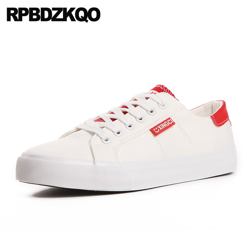 d29f88c9c0ec wide fit latest breathable trainers china round toe white canvas shoes  flats sneakers lace up chinese large size 11 10 women
