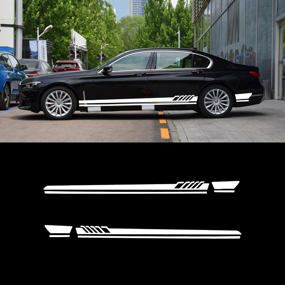 Car Stickers For <font><b>BMW</b></font> E87 F20 F22 <font><b>E21</b></font> E30 E36 E46 E90 F32 E34 E89 E85 E71 LCI Creative Refit Stripe Exterior Decoration Oem Tags image