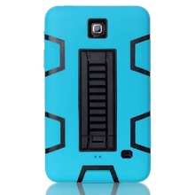 For Samsung T230 Case Cover Heavy Duty Armor Defender Hybrid Shockproof Cover for Samsung Galaxy Tab 4 T230