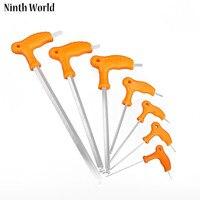 2.5-10 MM a forma di L Hex Wrench Set Chiave Chiavi Allen Testa A Sfera Professionale Spanner Strumento Mano Ferramentas Herramientas 7 Pz/lotto