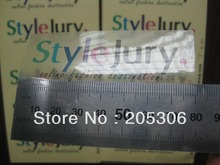 Customized Transparent PVC label sticker Color Printing for company advertisement Free shipping