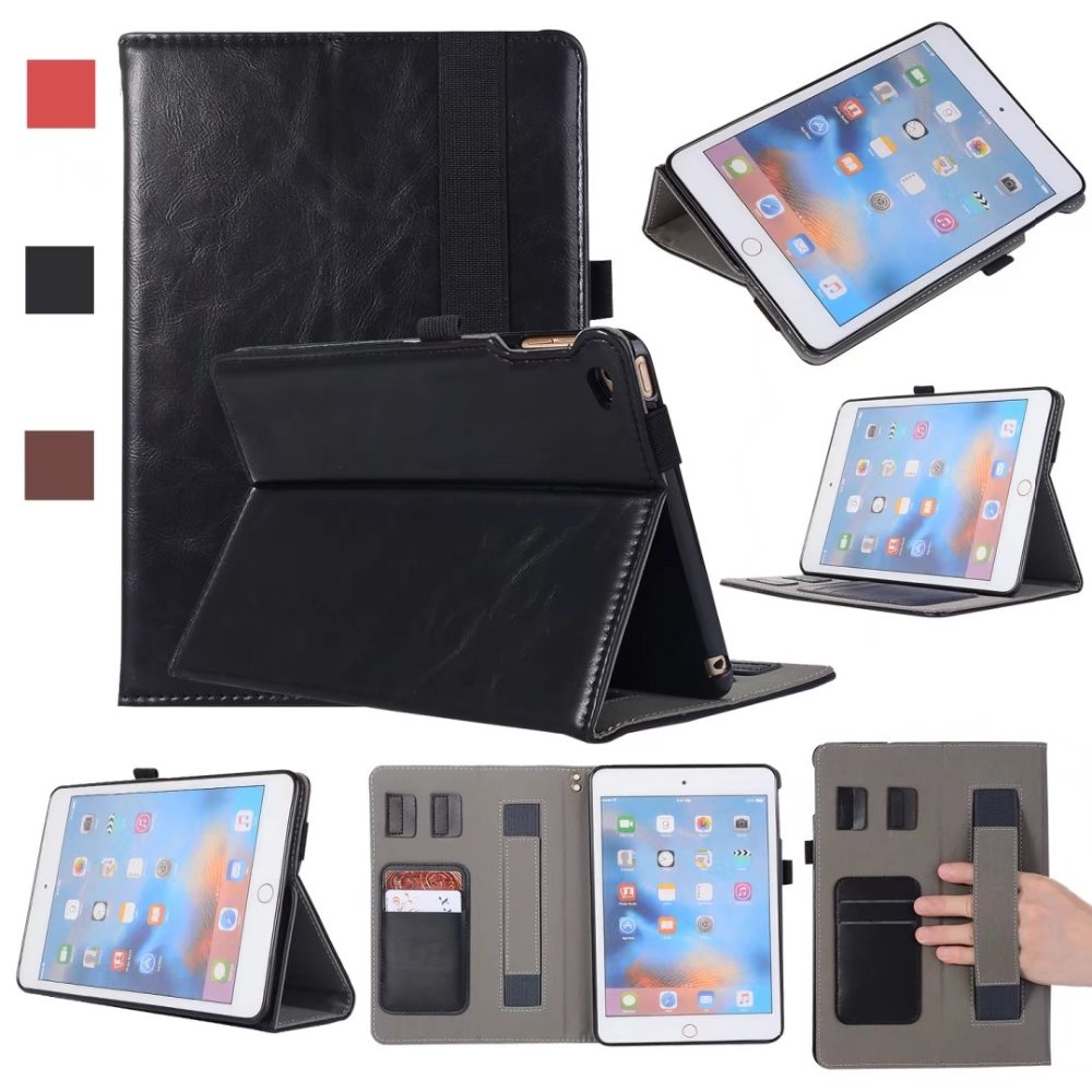Tablet Cover For Apple ipad mini 4 Case Luxury PU Leather Protective Card Holder 7.9 inch Tablet Cases For ipad mini 4 Fundas
