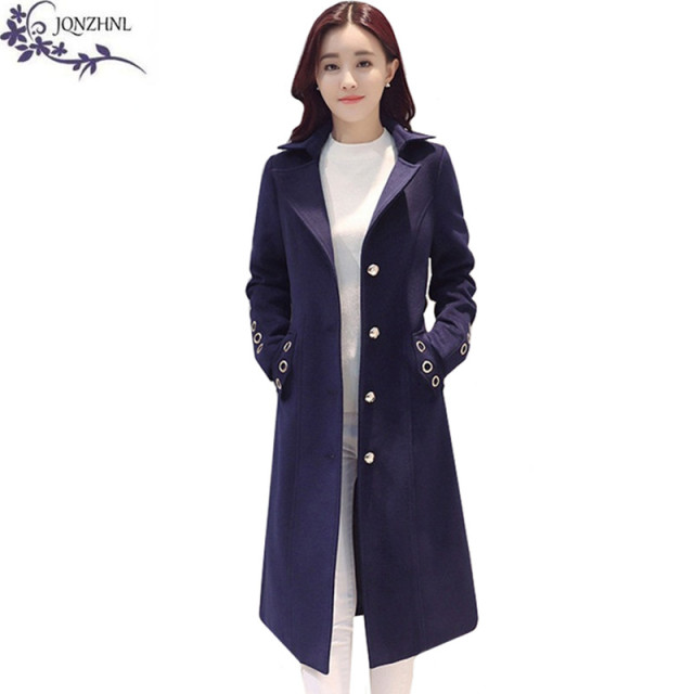 2017 Autumn women wool coats high quality fashion sweet Plus size ...