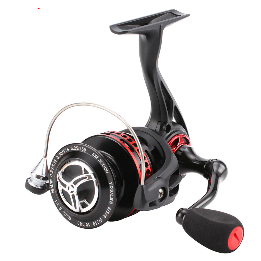 Seaknight 2000 4000 Series Spinning 6.2:1 Black Red Full Metal Body WaterProof Design Anti Corrosion Real 11 BB Fishing Reel-in Fishing Reels from Sports & Entertainment    1
