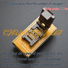 CH-DP(T)SSOP40-DIP40 Adapter TSSOP40 to DIP40 test socket Pitch:0.5mm Width=4mm/8mm pmd100 dip40