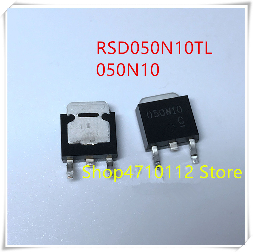 NEW 10PCS/LOT RSD050N10TL 050N10 RSD050N10 100V 5A TO-252 IC