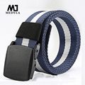 2017 Mens Belts Luxury Letter Adult Men free The Belt Belts Cinto Masculino Anti-allergic Nylon Male Casual Canvas Strap Knitted