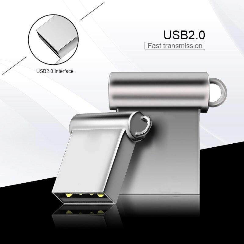 Super Mini Small USB Flash Drive 4GB 8GB 16GB Memory Stick Pendrive Small Pen Drive 32GB 64GB Waterproof U Disk