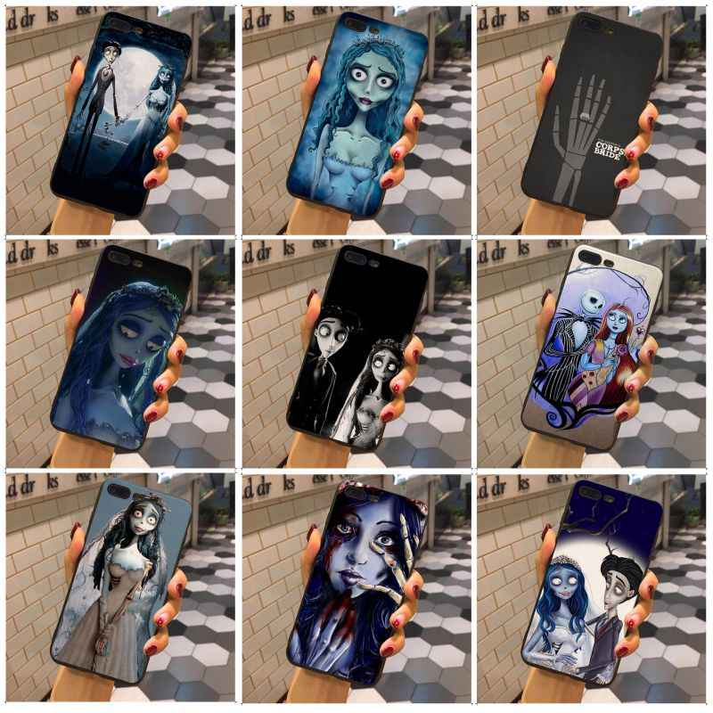 MaiYaCa טים ברטון של חתונת רפאים באיכות טלפון מקרה עבור iphone 6s 6plus 7 8 בתוספת 5 5S SE עבור iphone X XSMax XR XS מקרה כיסוי