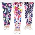 Printing Flower Children's Pants Multi Color Children Girl Pant Trousers For Kids Leggings Skinny Girls Leggings Kid Clothing