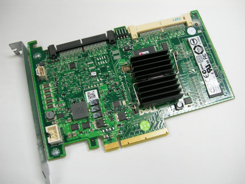 Новый проц 6i RAID5/6 SAS RAID-контроллер pci-e карты t774h карты для PowerEdge Лучшая цена ...