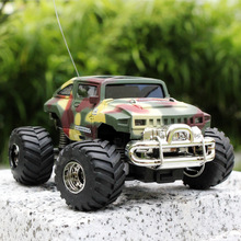 Wltoy Baja R/C Mini Car Fast Control Speed Racing Toy Vehicle Jeep Big Wheel Simulation Shell Charging By Remote Controller