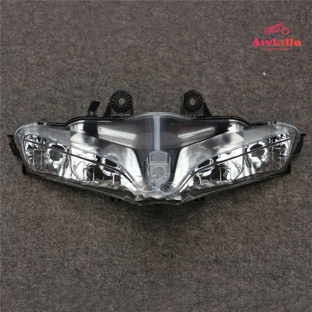 For Ducati 1199 Panigale 2012 2013 2014 Upper Front Headlight Head Lamp Clear