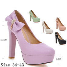 Ladies Pumps Women High Heel Shoes Platform Pumps Woman High Heels Party Wedding Shoes Plus Size 34-40.41.42.43