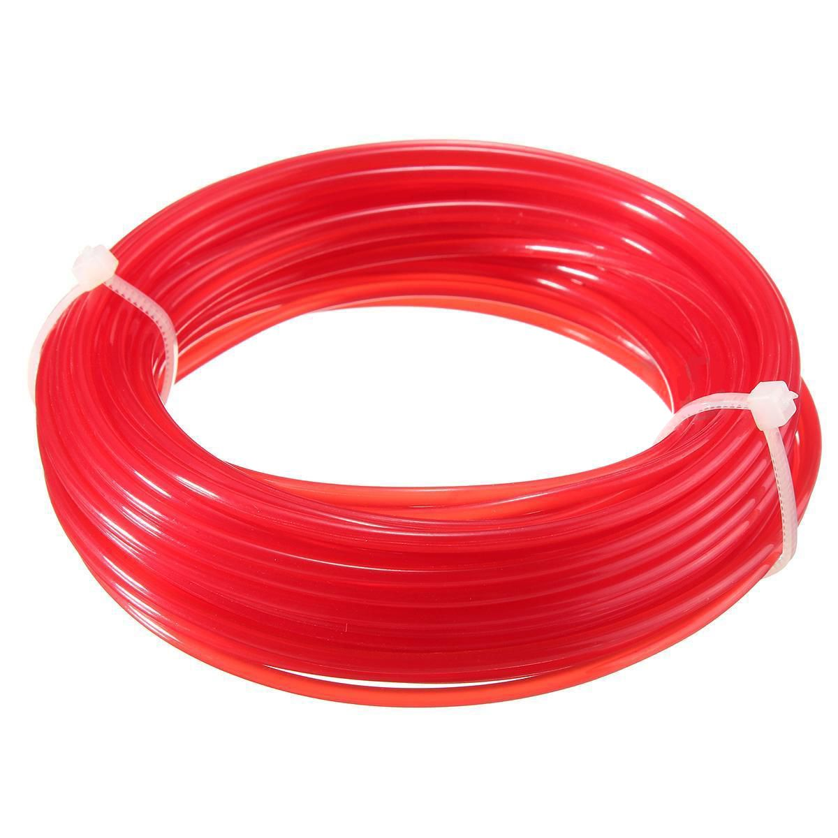 Durable Mayitr 2mm*10m Grass Trimmer Strimmer Line Nylon Cord Wire Round String For Lawn Mover Replacement цена