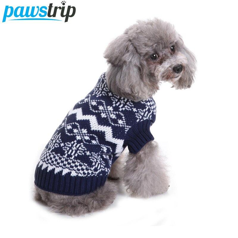 Aliexpress.com : Buy pawstrip 7 Patterns Soft Dog Jumpers ...
