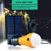 165Lumen Solar Powered Portable Led Bulb Lamp Solar Energy Lamp Led Lighting Solar Panel Light Energy