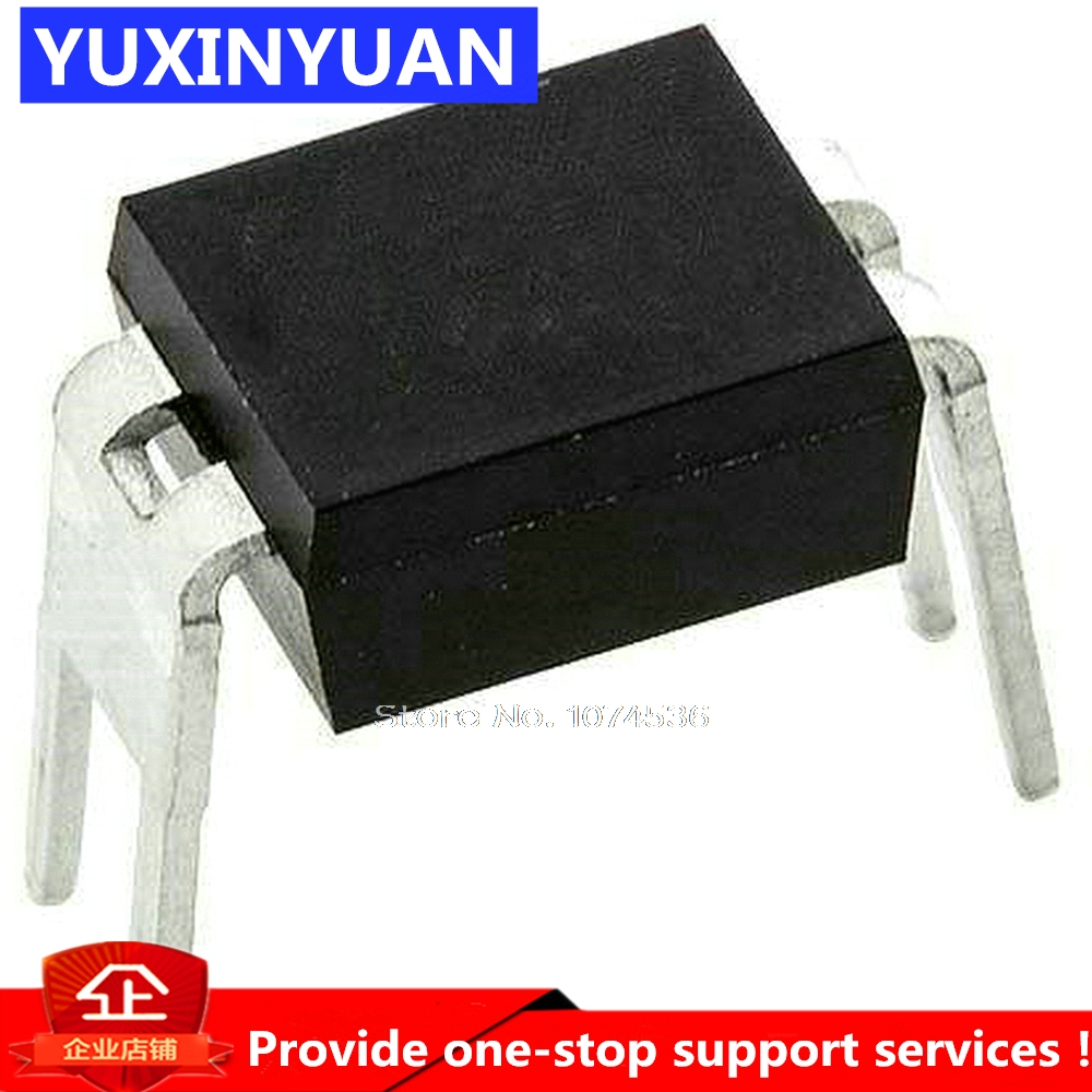 1pcs//lot LTV-814 LTV814 HCPL-814-00AE Compatible optocoupler PC814 DIP4 Original Authentic in Stock