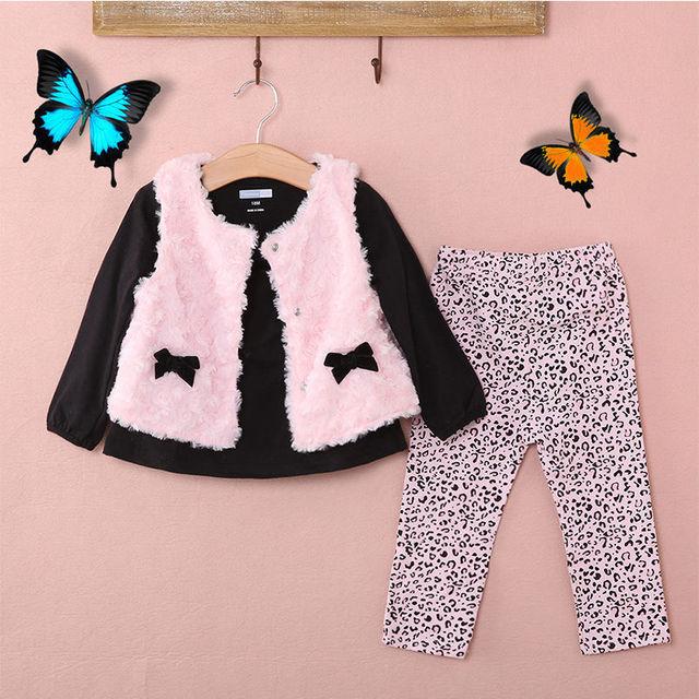 6bb7e20d3f68 3PCS Set !!!!Newborn baby Girl Smart White Floral Waistcoat Jacket + ...
