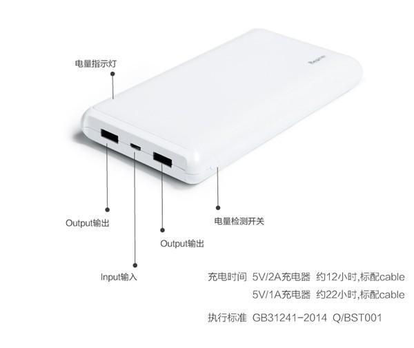 Besiter Beand 20000mAh Dual USB Power Bank (16)