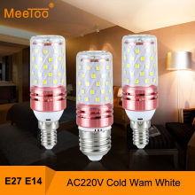 E27 LED Lamp E14 LED Bulb 220V 12W 16W LED Corn Bulb Lamp LED Light Bulb NO Flicker Constant Current Pendant Chandelier Lighting(China)