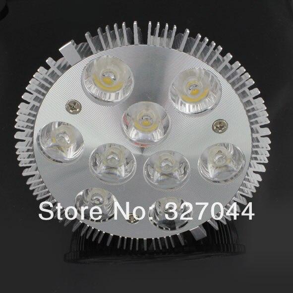 FPar 38 Par 30 led spot light ściemniania 85-265 v lm nominalnej 38 żarówka led e27 27 w doprowadziły reflektor sufitowy