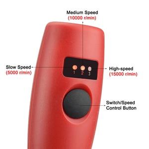 Image 2 - NEWACALOX Mini juego para lijadora eléctrica, 10w, USB, 5V, CC, herramientas rotativas de velocidad Variable, lápiz para tallar madera para fresadora grabadora
