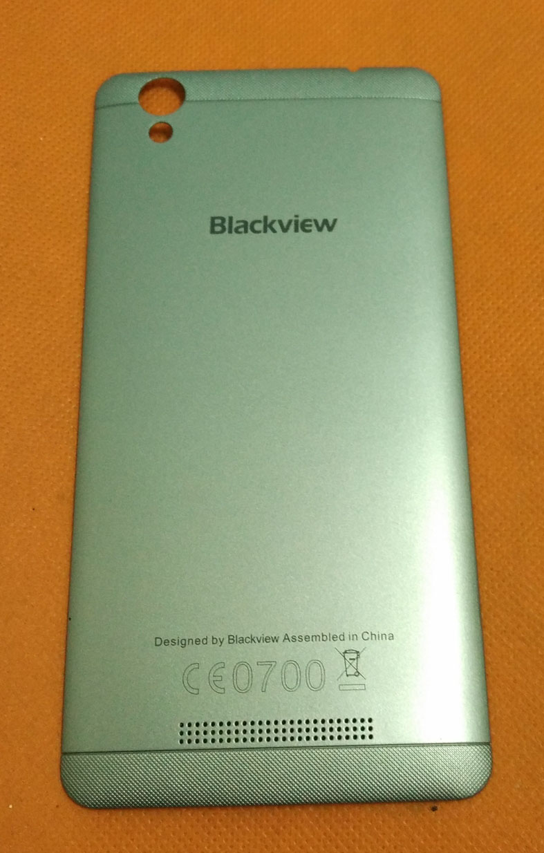 Used Original Back Battery case cover for Blackview A8 MTK6580A Quad Core 5.0 Inch Free shipping