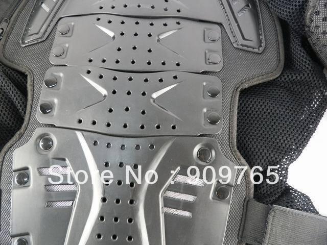 1 pcs noir adulte armure corporelle veste moto garde poitrine protecteur moto accessoires pièces - 5