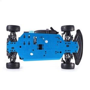 Image 5 - Samochód zdalnie sterowany HSP 4wd 1:10 na wyścigi drogowe dwie prędkości Drift pojazdu zabawki 4x4 Nitro Gas Power High Speed Hobby zdalnie sterowanym samochodowym