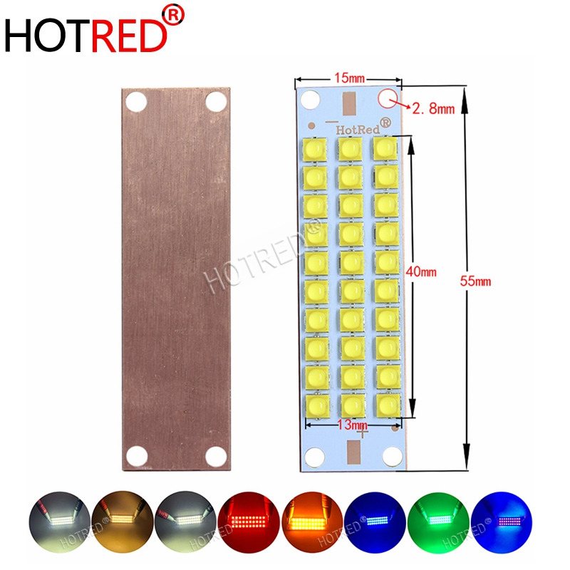50W 100W 150W UV White Warm White LED Red Green Blue COB Bulbs LED Chip Diode Purple Ultra Violet light uv glue curing 3Dprinter silicone jigsaw pattern cover creative notebook red white green purple