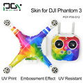 PGY   Sticker for DJI Phantom 3 Drone parts  Decal Skin Waterproof 3M Exterior Remote Controller Wrap skins decals