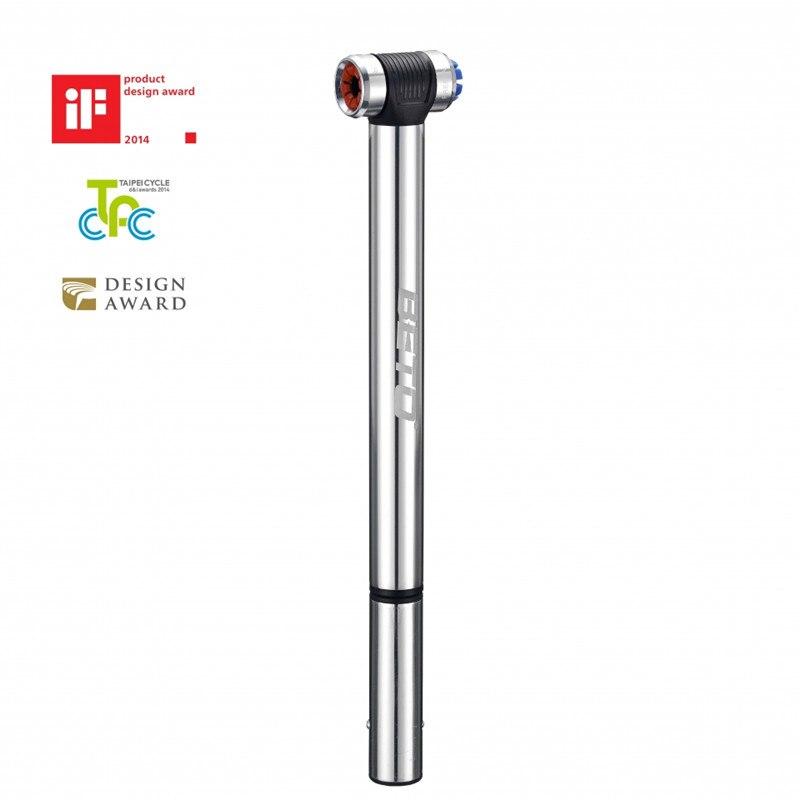 Pompe à vélo BETO EZ-001A Mini Portable vélo vtt vélo de route gonfleur de pneu pompe à Air avec support de manomètre