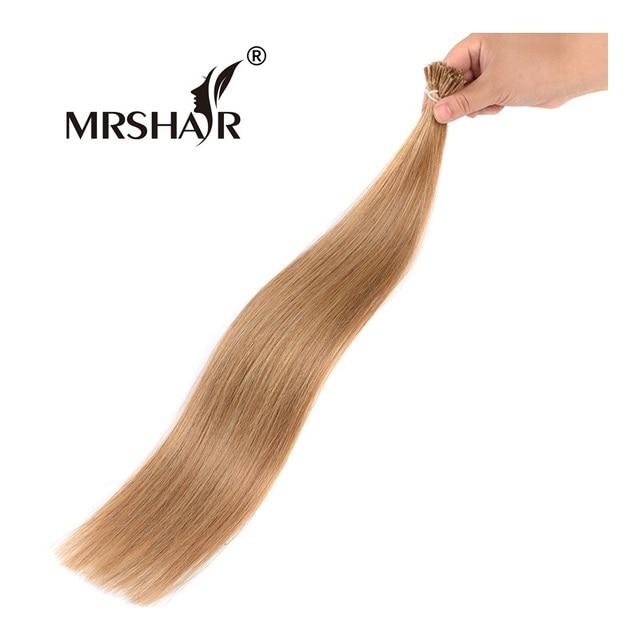 Mrshair 27 I Tip Hair Extensions Fusion Hair Non Remy 1gpc Keratin
